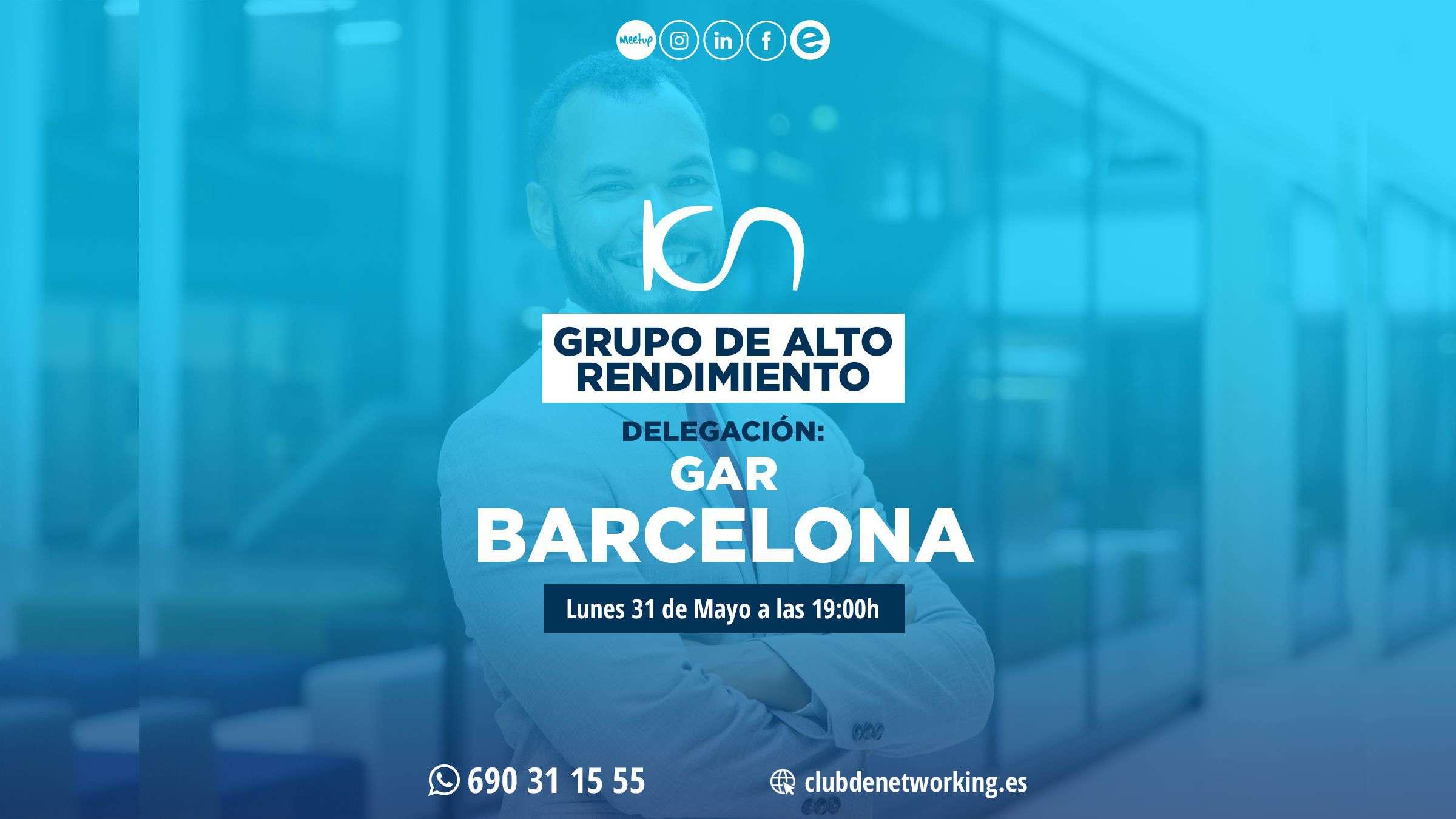 gar barcelona 31 de mayo