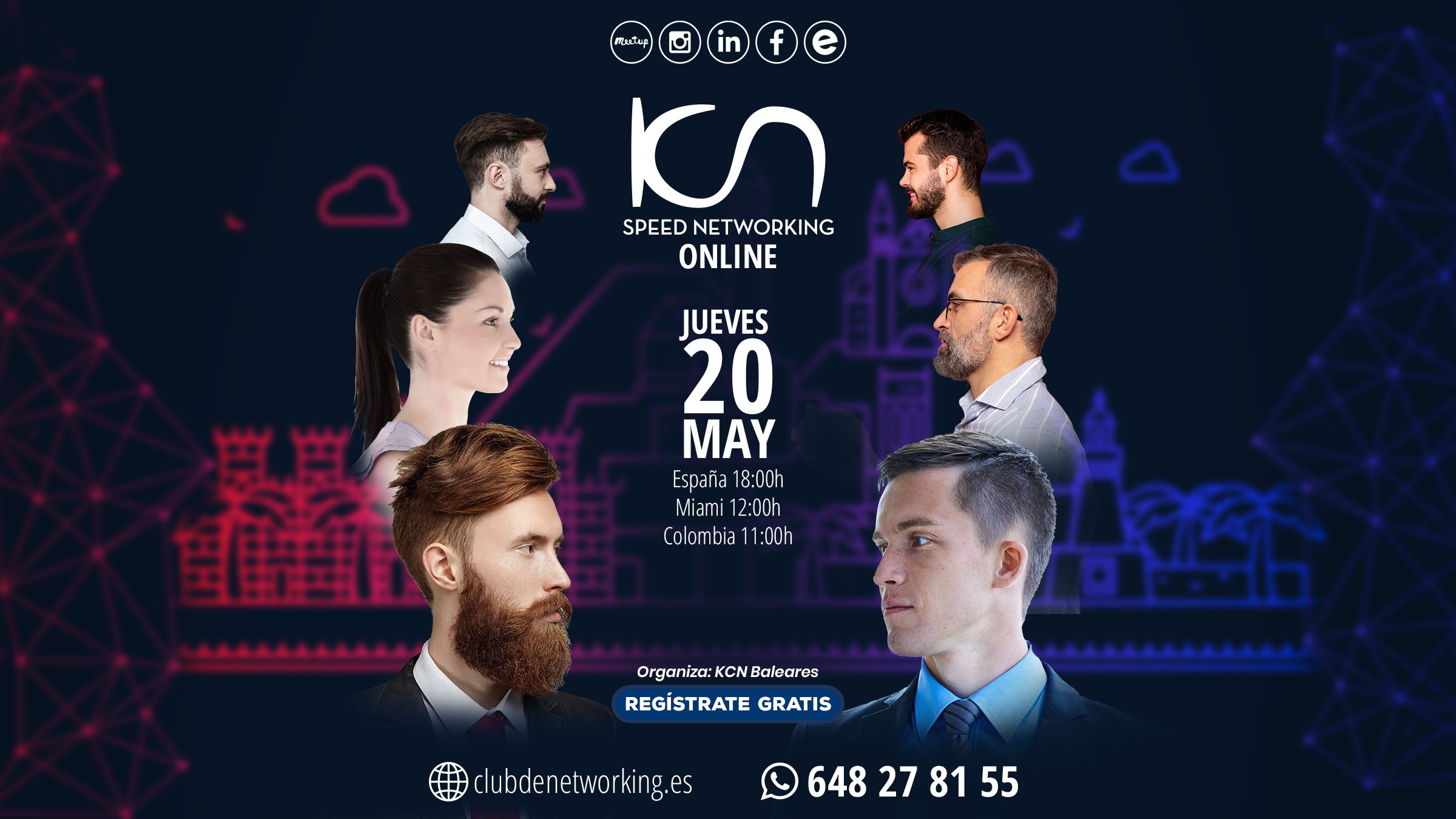 speed networking 20 de mayo