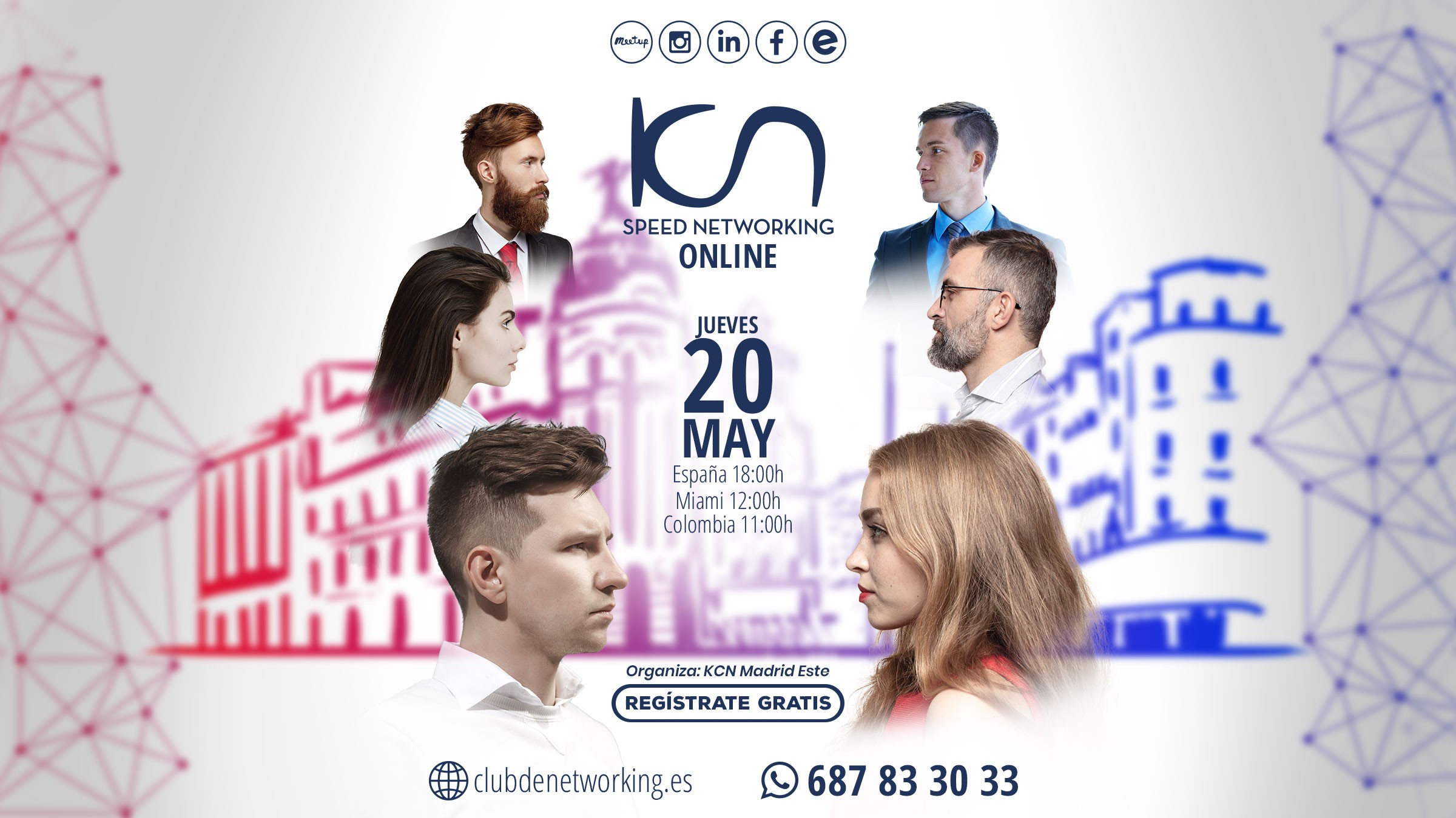 speed networking 20 de mayo madrid este
