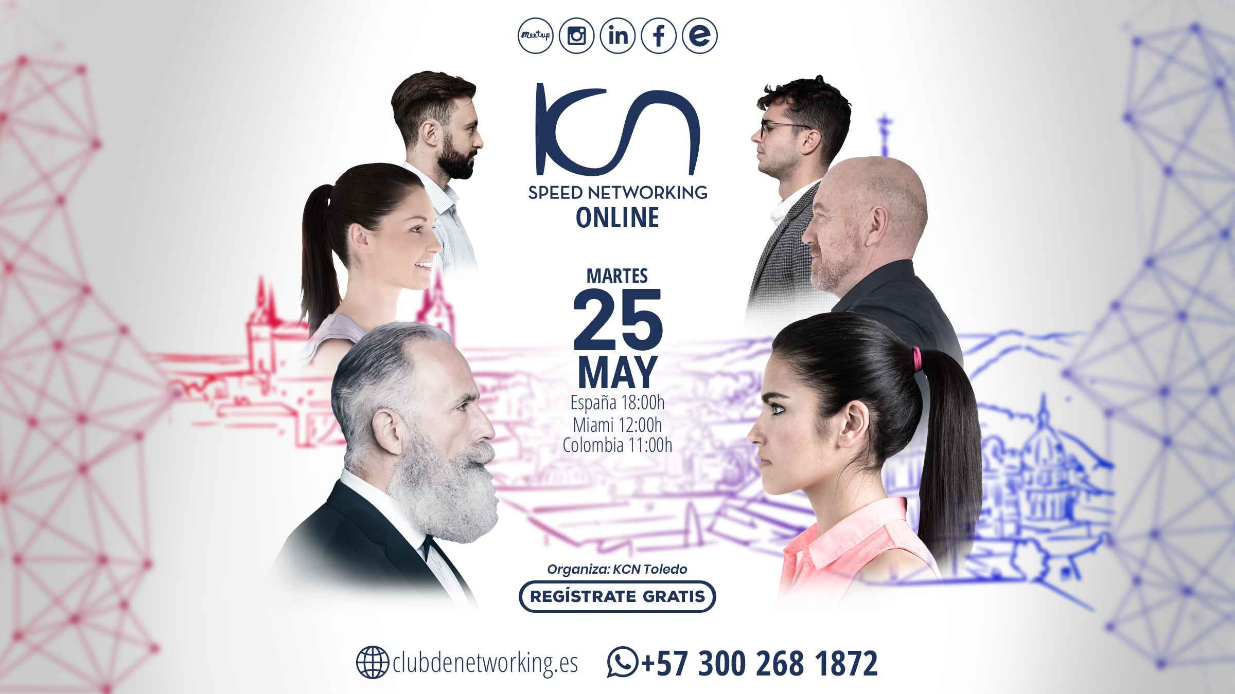 speed networking 25 de mayo