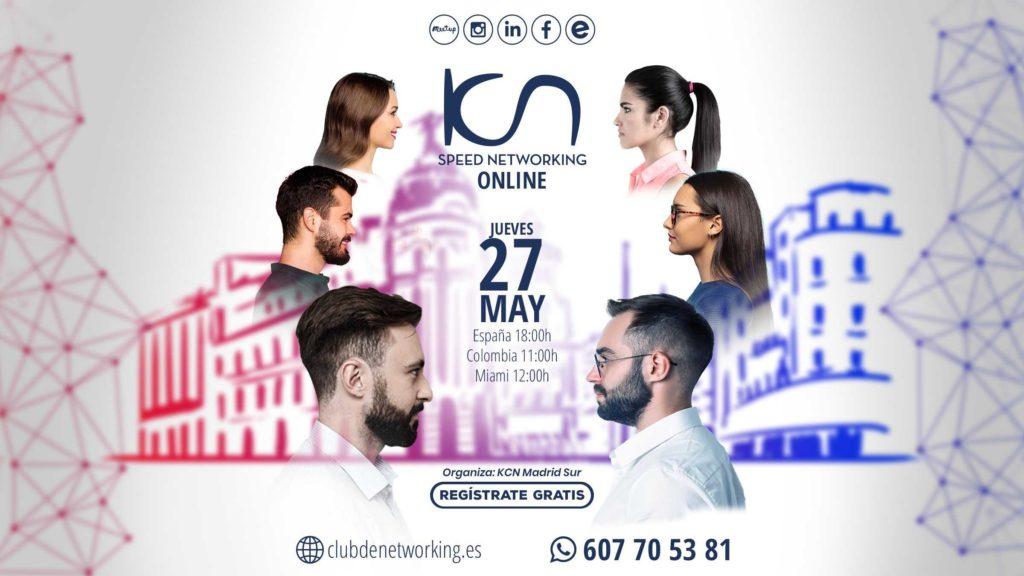 speed networking 27 de mayo madrid sur