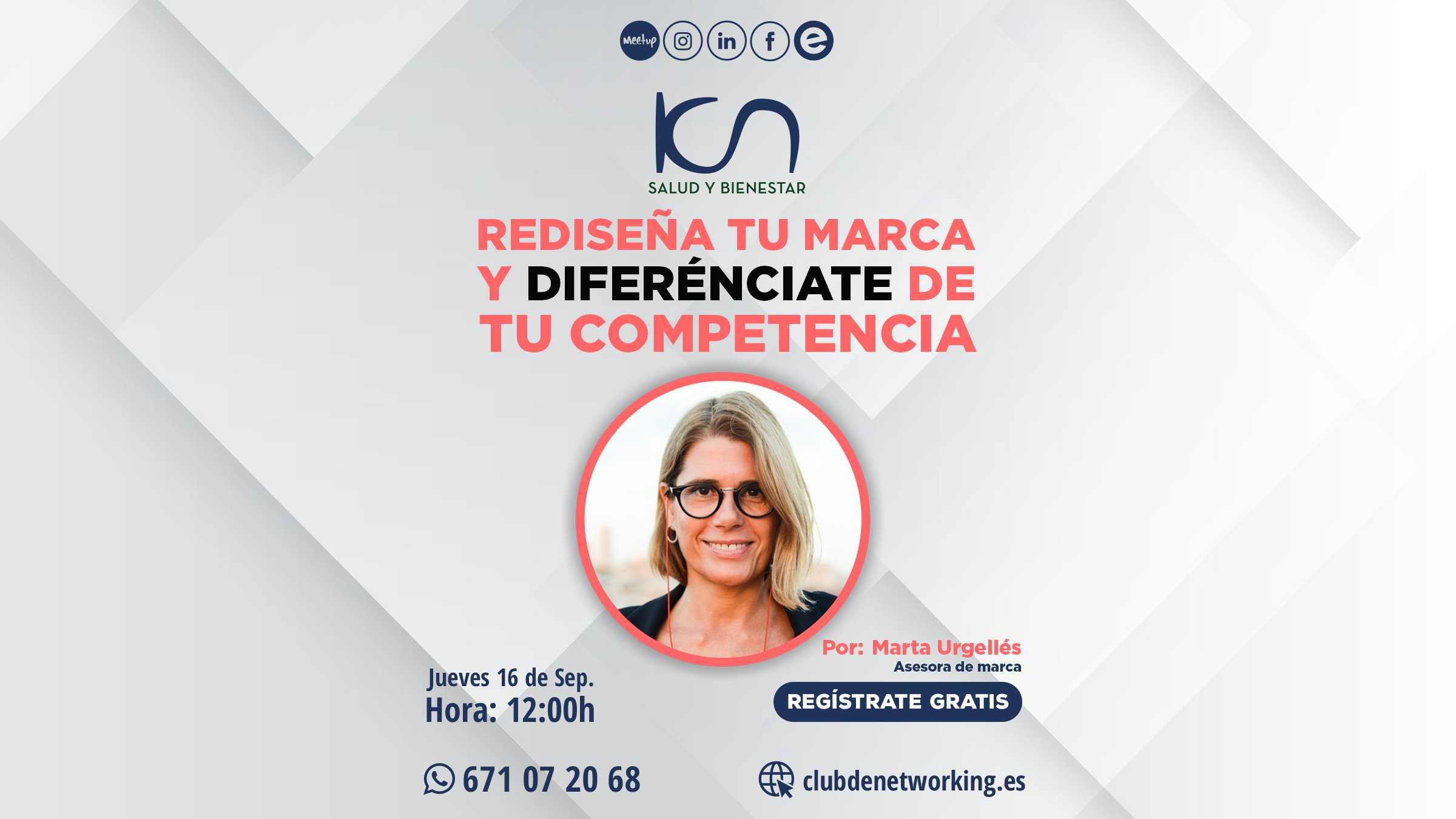 REDISEÑA TU MARCA Y DIFERENCIATE DE TU COMPETENCIA