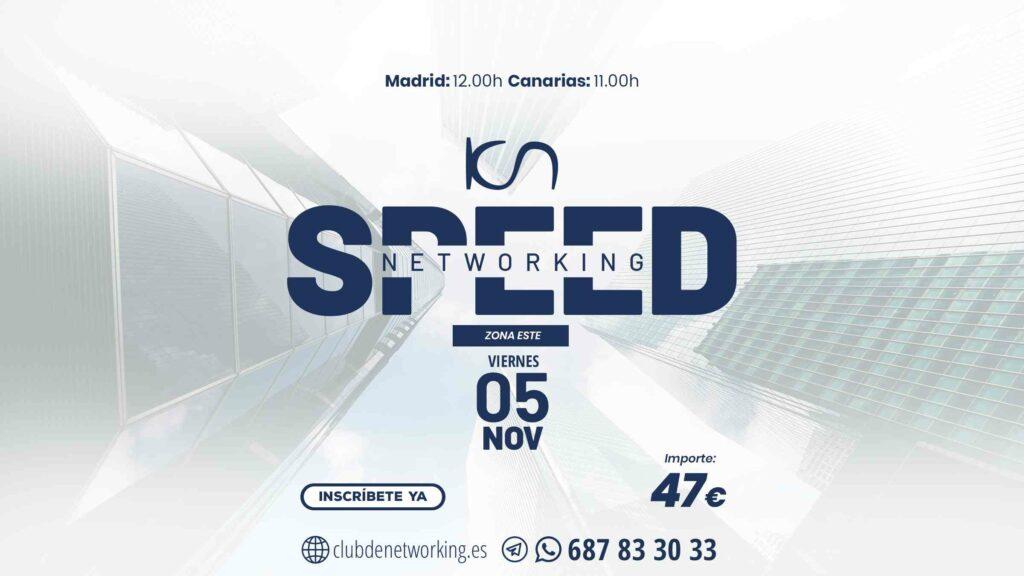 speed 05 11 ESTE 1024x576 - GAR Valencia Norte - networking coworking emprededores empresarios